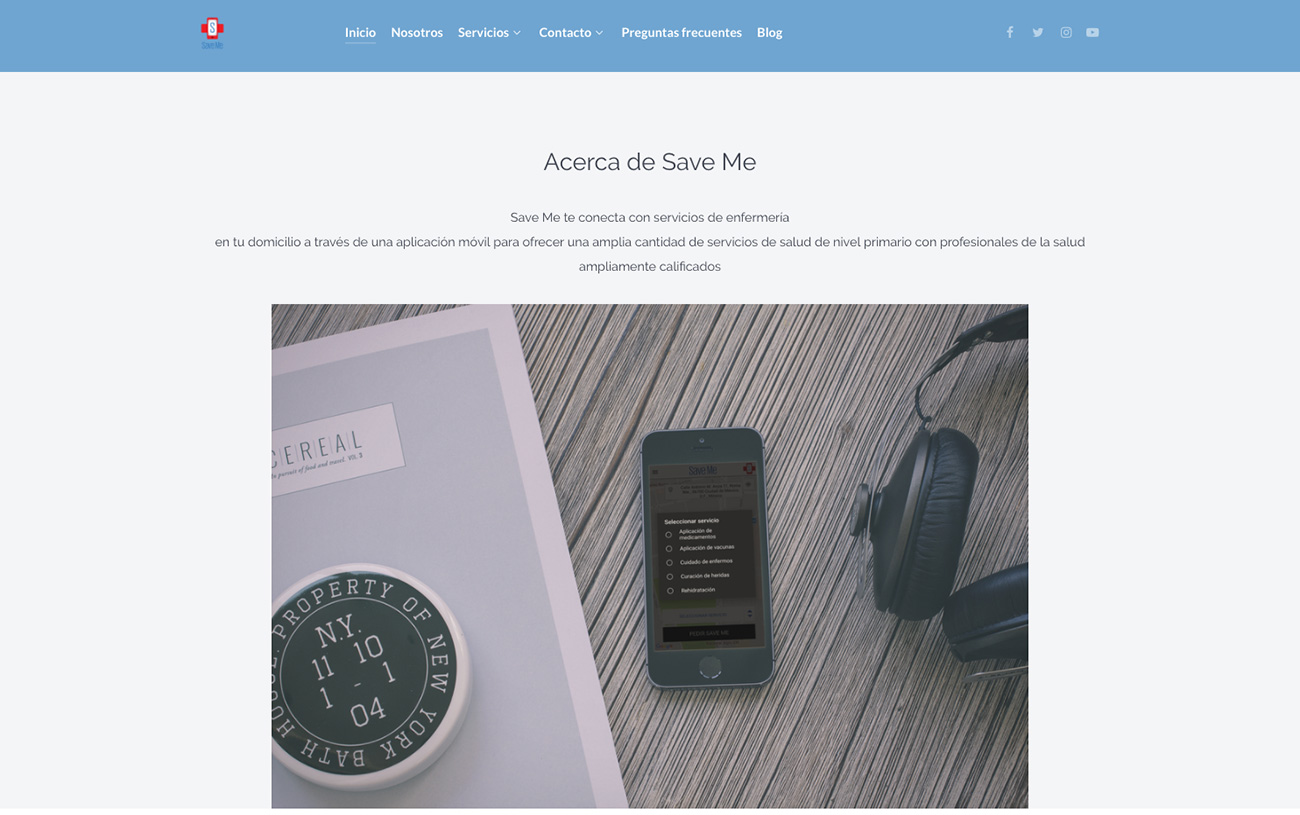 Startup Interview – Save Me App